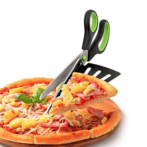 iTimo Pizzaschere, Pizzaschneider, mit Schaufel, Edelstahl