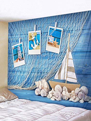 GUAT Wandteppich Mandala tapisserieHängende kreative Schale Tapisserie Hintergrund Tuch Wand Tuch Dekoration Tuch Schlafzimmer Schiff Boot Gobelin, 150 * 150 cm