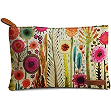 DailyObjects Makeup pouch(Multicolour,THE-FRE-SPR-SDS-CLUTCH-MED)