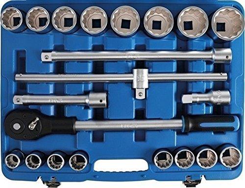 BGS 1107 Steckschlüsselsatz 20 (3/4), in Zoll, 21-TLG