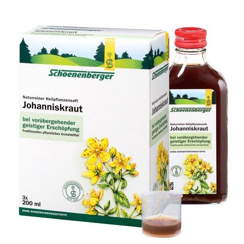 JOHANNISKRAUT SAFT Schoenenberger Heilpfl.Säfte 600 ml Saft