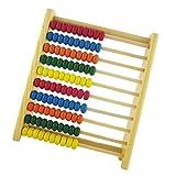 MagiDeal Kinder Hölzernes Zählen Abacus Bunte Perle Pädagogisches Lernen Mathe Spielzeug