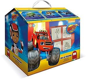 MULTIPRINT Blaze - Juegos de Sellos para niños, Caucho, Madera, 3 año(s), Italia, 246 mm, 171 mm