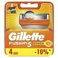 Gillette Fusion Power Razor Blade Refill x4