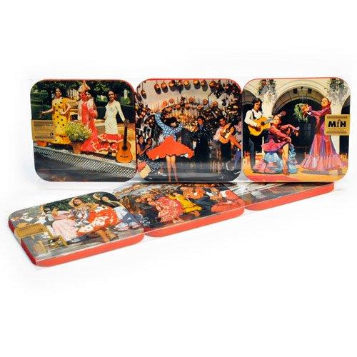 fantastik-juego-de-6-posavasos-flamenco-kitsch