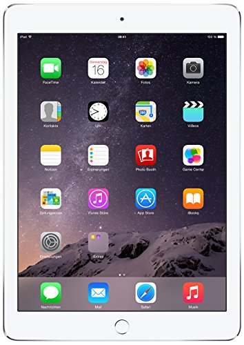 Apple iPad Air 2 128GB 4G - Silber - SIM-Free (Ipad Air 2 128 Cellular)