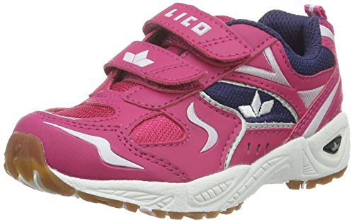 Lico Mädchen Bob V Hallenschuhe Pink (Pink/Lila)