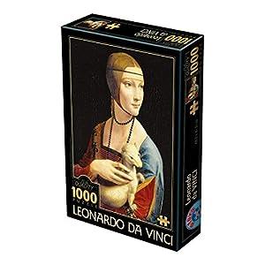 Unbekannt D de Toys 2-Puzzle 1000Leonardo Da Vinci