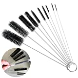 Best GENERIC Jewelry Supplies - Generic 10Pcs Nylon Tube Brush Set Cleaning Brush Review