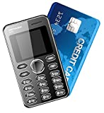 Kechaoda K66(black) Mini Ultra Slim Credit Card Size Mobile Phone with Bluetooth, MP3