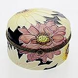 Old Tupton Ware - Chrysanthemums Design - Round Trinket Box
