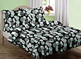 Swaas Moon King Printed Cotton Bed Sheet...