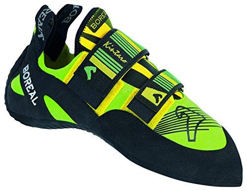 BOREAL Kletterschuhe gelb grün schwarz