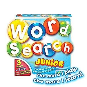 Goliath Games GL60055 WordSearch Junior, Divertido Juego de Rompecabezas Educativo para niños pequeños 4 +, Multi