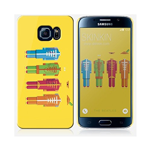 Sticker iPhone 5C de chez Skinkin - Design original : The Beatles par Frederico Birchal Coque Samsung Galaxy S6