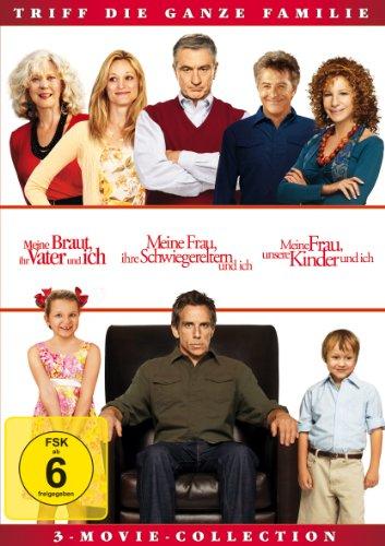 Meine Braut, ihr Vater und ich / Meine Frau, ihre Schwiegereltern und ich / Meine Frau, unsere Kinder und ich [3 DVDs]