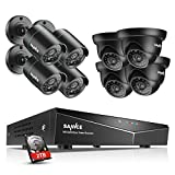 SANNCE 16-Channel 1080N DVR HomeGuard DIY CCTV Kit w/ 2TB HDD + 8