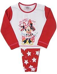 Disney Baby Mädchen (0-24 Monate) Schlafanzugoverteil mehrfarbig weiß / rot