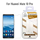 Twin Pack Gorilla Tech ® Premium Tempered Glass Screen Protector for Huawei Mate 10 Pro Invisible Shield 0.3mm Cover 9H Hardness Crystal Clear HD Quality Shatter & Scratch Resistant 3D Touch & Face ID Compatible LCD Screen Guard Electroplated Oleophobic Coating 2.5D Round Edges