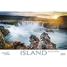 Island 2018: Großer Foto-Wandkalender mit Bildern von der Insel der vielen Vulkane. Travel Edition mit Jahres-Wandplaner. PhotoArt Panorama Querformat: 58x39 cm.