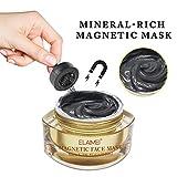 Unisex Magnetische Maske Mineralreiche Magnetische Gesichtsmaske Whitening Feuchtigkeitsspendende Nährende Maske