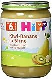 HiPP Früchte, Kiwi-Banane in Birne, 1er Pack (1 x 190 g)
