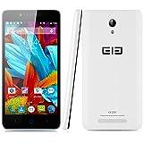 Elephone P6000 Pro Smartphone 4G, 5.0 Pulgadas 64bit Android 5.1 MTK6753 1.5GHz Octa Core 3GB 16GB Doble Cámaras (Blanco)