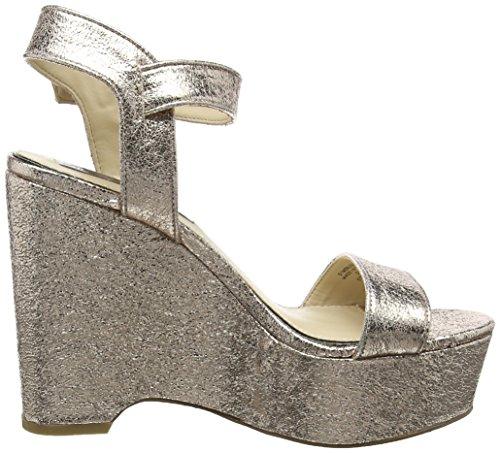 Miss Selfridge - 51m06ugld, Strap alla caviglia Donna Gold (Gold)