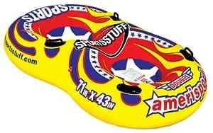Double Ameri-Sport Snowtube - Sportsstuff - Aufblasbarer Schlitten Rodel Bob Snow-Tube