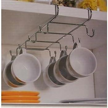 praktischer Tassenhalter für 8 Tassen zum Aufstecken an