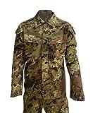 Algi - Conjunto militar, de combate y de camuflaje con la vegetación, de ripstop, de hilo de poliéster, VEGETATO MIMETICO, 52