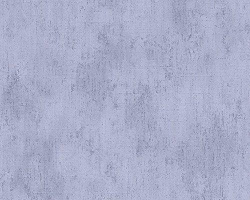 Metropolis by Michalsky Living Vliestapete South Beach Tapete Unitapete 10,05 m x 0,53 m blau Made in Germany 304571 30457-1