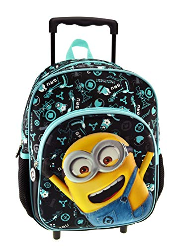 Despicable Me Minions Cartable, 30 cm, Noir