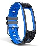 endubro Ersatzarmband Fitness Tracker i3HR, i7HR, Lintelek, Mpow, SUNUNITEC (Schwarz Neu)