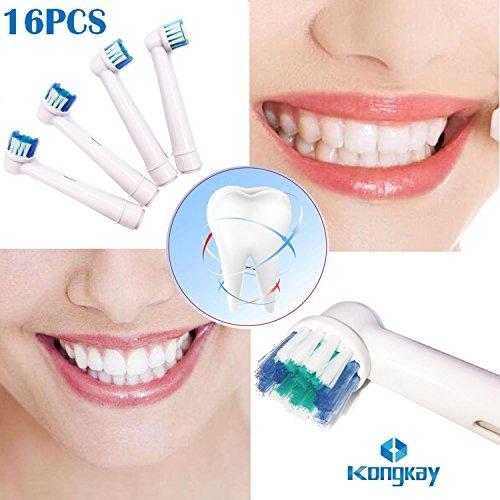 TopCores - Cabezales para cepillo de dientes eléctrico (16 unidades 68ebd764c7d8