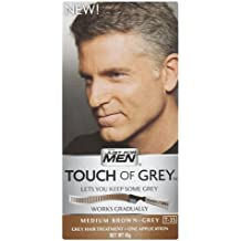 3 x Just For Men Touch of Grey Medium Brown/Grey (T-35) 42g