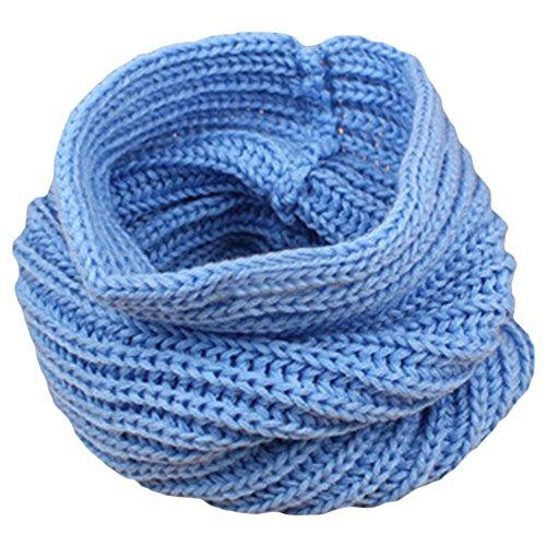 Sanwood Children Muffler Winter Warm Knitted Scarf Boy Girl Wrap
