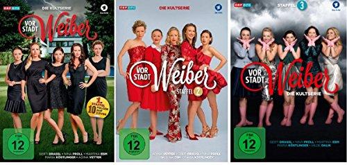 Preisvergleich Produktbild Vorstadtweiber - Staffel 1+2+3 im Set - Deutsche Originalware [9 DVDs]