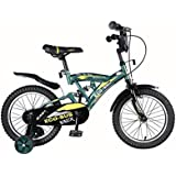 "Vaux Eco-Sus 16"" Green Kids Sports Bicycle For Boys"