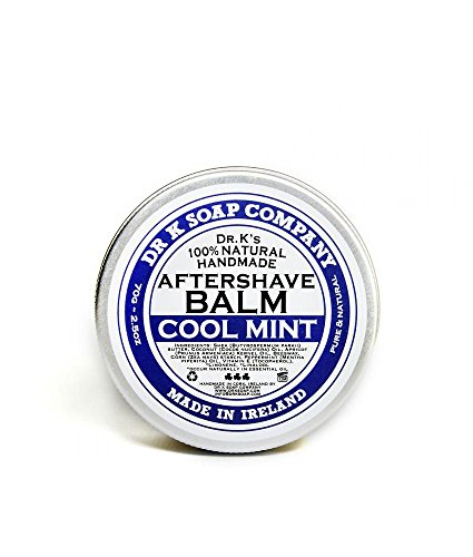 DR K Soap Company Aftershave Balm Cool Mint