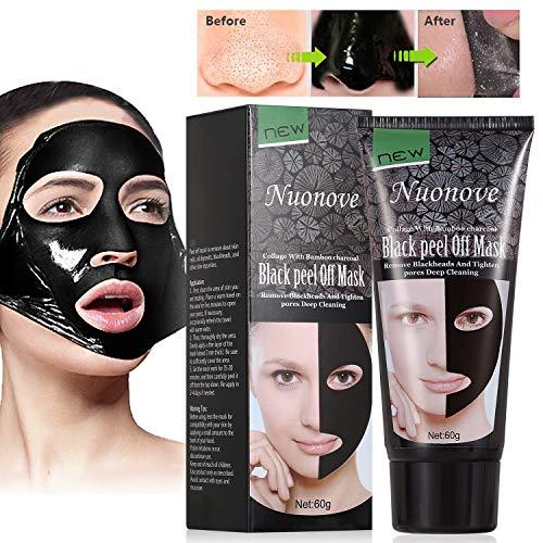 Mitesser Maske, Peel Off Maske, Black Head Maske, Gesichtsmasken Schwarz,...
