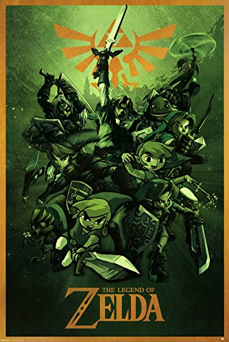 The Legend Of Zelda (Link) 61 x 91 cm Affiche