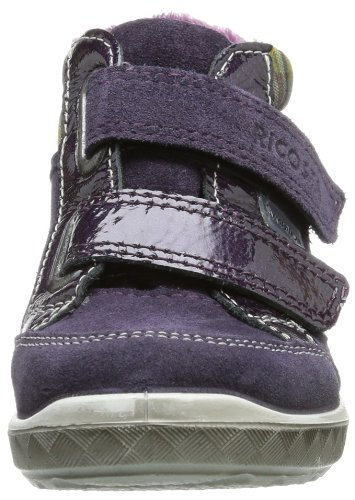 Ricosta  BAJLA(M), Hi-Top Slippers fille Violet - Violett (blackberry/purple 393)