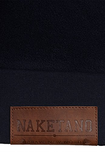 Naketano Male Hoody Discopimmel V Dark Blue
