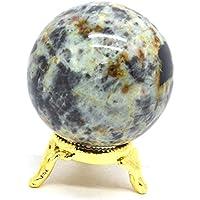 Preisvergleich für Healing Crystals India Natürlicher Edelstein Kugel Chrysokolla 40-50 mm