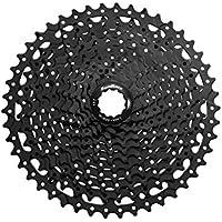 MSC Bikes MS8 11V 44-42 Cassette para Bicicleta, Negro, 11-42
