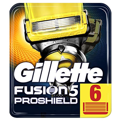 Cuchillas afeitar hombre Gillette Fusion Proshield