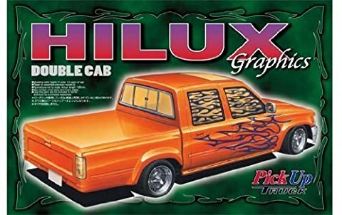 1/24 series pickup (custom tracking) 8 W Hilux cab graphics (japan import)