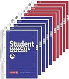 10 Brunnen Collegeblöcke Student A4 Lineatur 27, liniert 80 Blatt + 10 Brunnen...