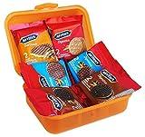 Geschenk Set Lunch Box mit Mc Vities Digestive Keksen (6-teilig)